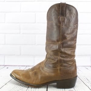 Durango Distressed Brown Leather Western Boots 11